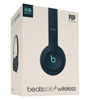 Beats by Dr. Dre Solo 3 Wireless On-Ear Kopfhörer Pop Collection pop blue